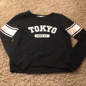 Black Tokyo sweat shirt